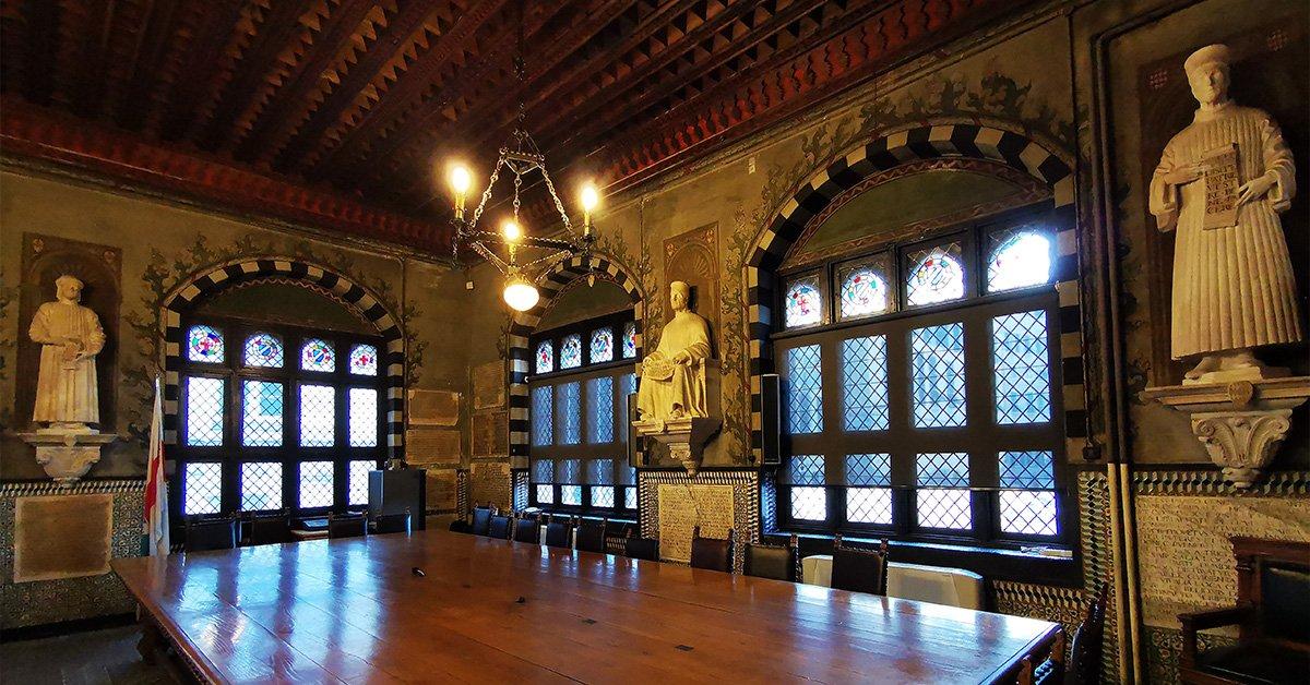 Palazzo San Giorgio - Sala del Capitano