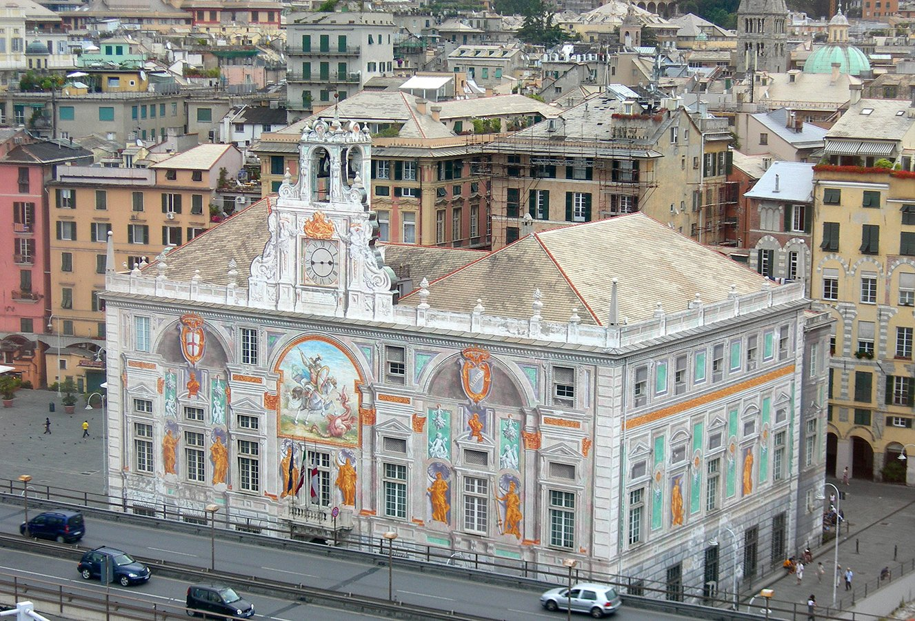 Palazzo San Giorglio - L'esterno