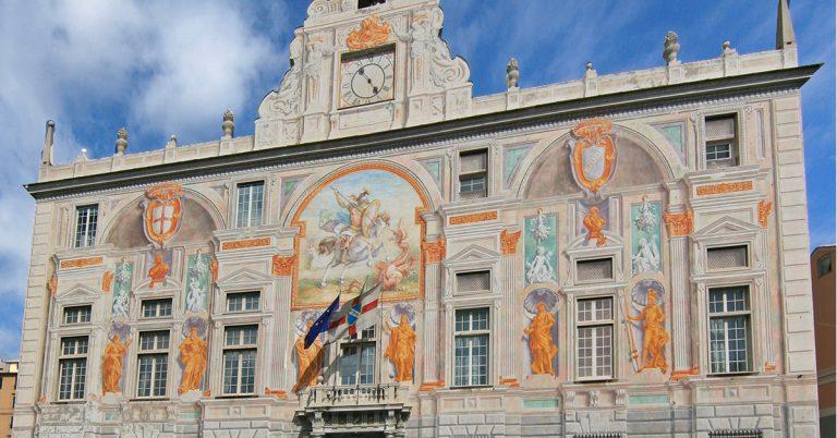 Palazzo San Giorgio - La facciata